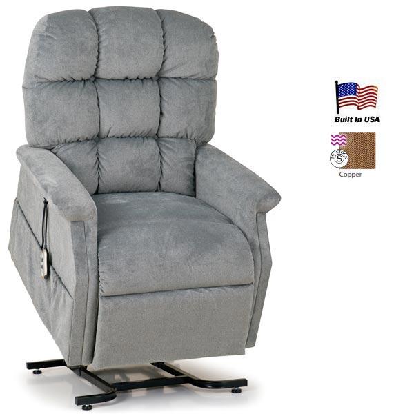 Lift Chair Recliner Medium Size Hampton with 2Motor