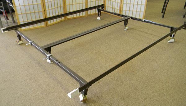Bed Frame For Split Queen Box Spring Or Foundation