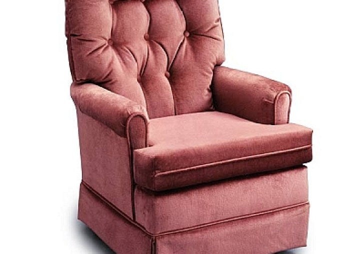 Small Swivel Rocker Chair