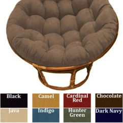Metal Sofa Glider Fix A As Seen On Tv Papasan Micro Suede Replacement Cushion