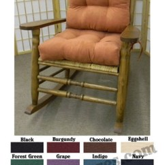 Rocking Chair Pad Sets Chairs With Lifts For The Elderly Kennedy Style Solid Cushion Set Jfk Rocker Cushions Jpg