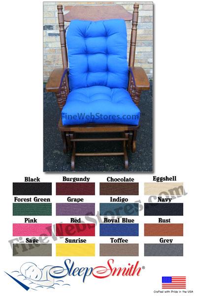 metal papasan chair rocking stainless steel glider rocker cushions standard size duck fabric
