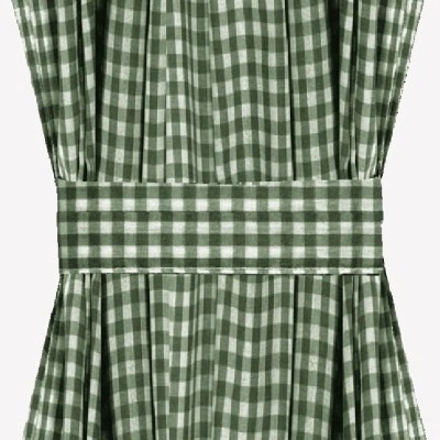 rocker glider chairs non slip office chair mat hunter green gingham check french door curtains