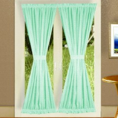 White Metal And Wood Chairs How To Make Wooden Mint Green French Door Curtains