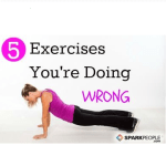 5 exercises doing wrong