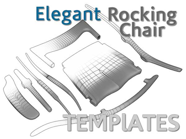 free rocking chair plans narrow tub chairs woodworking building sculpted