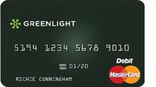 greenlight card