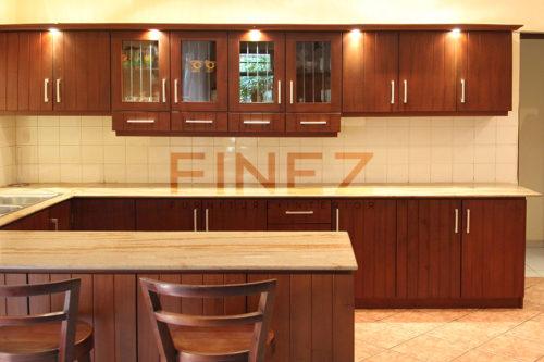kitchen pantry cupboard cheap cart designs sri lanka mahogany teak front view of caston by finez