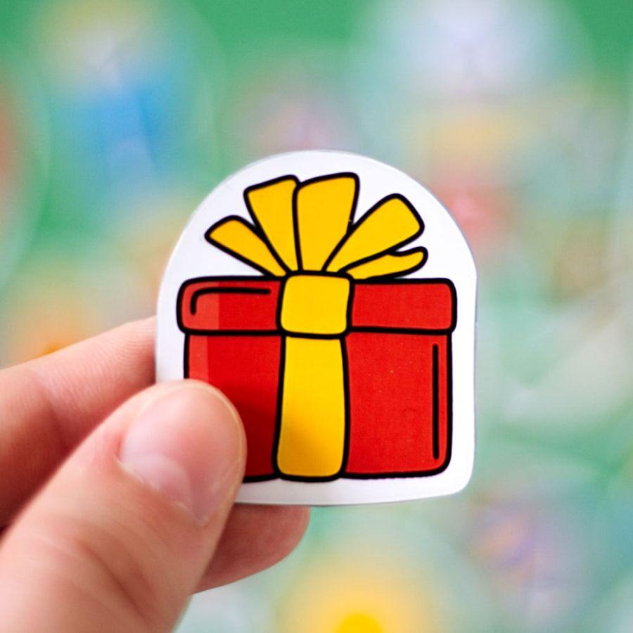 Sticker zum Geburtstag Geschenk