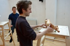 The Snow Queen Rehearsals - Robin Guiver and Alexander Parsonage