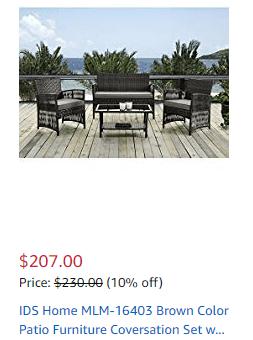 patio furniture amamzon finger lakes