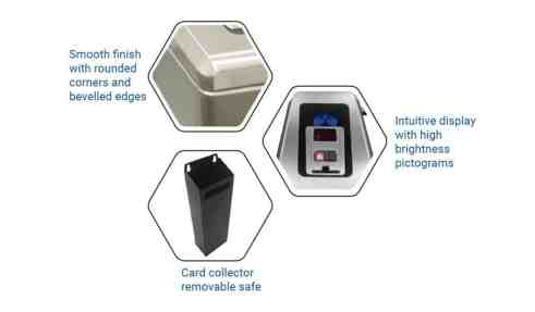 PoE Power Box Tripod Turnstile Borer Fingerprint Access Control
