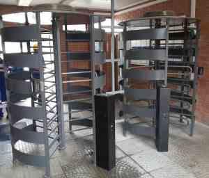 access control turnstiles port harbours