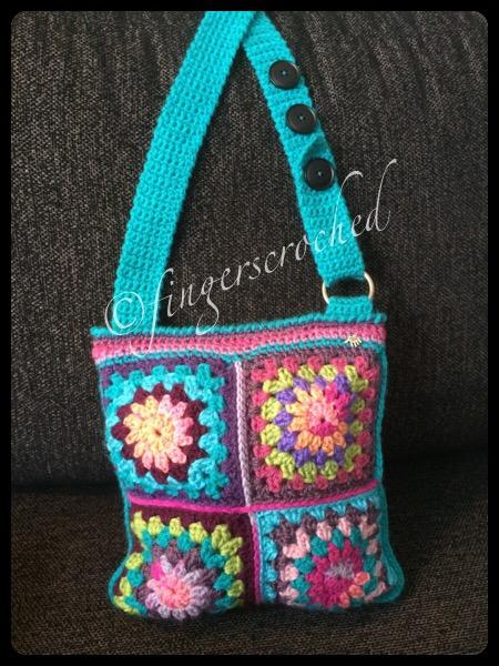 En liten väska – Välkommen till FingersCroched