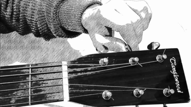 Accorder sa guitare