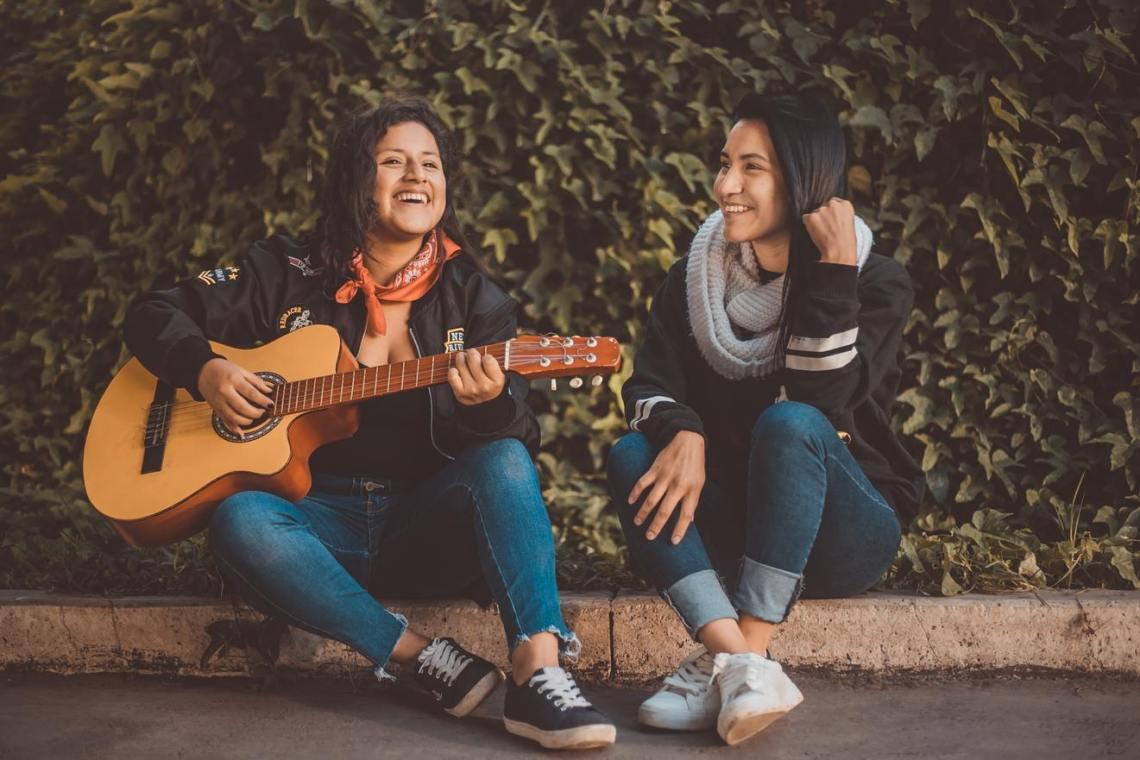 Sourire guitare