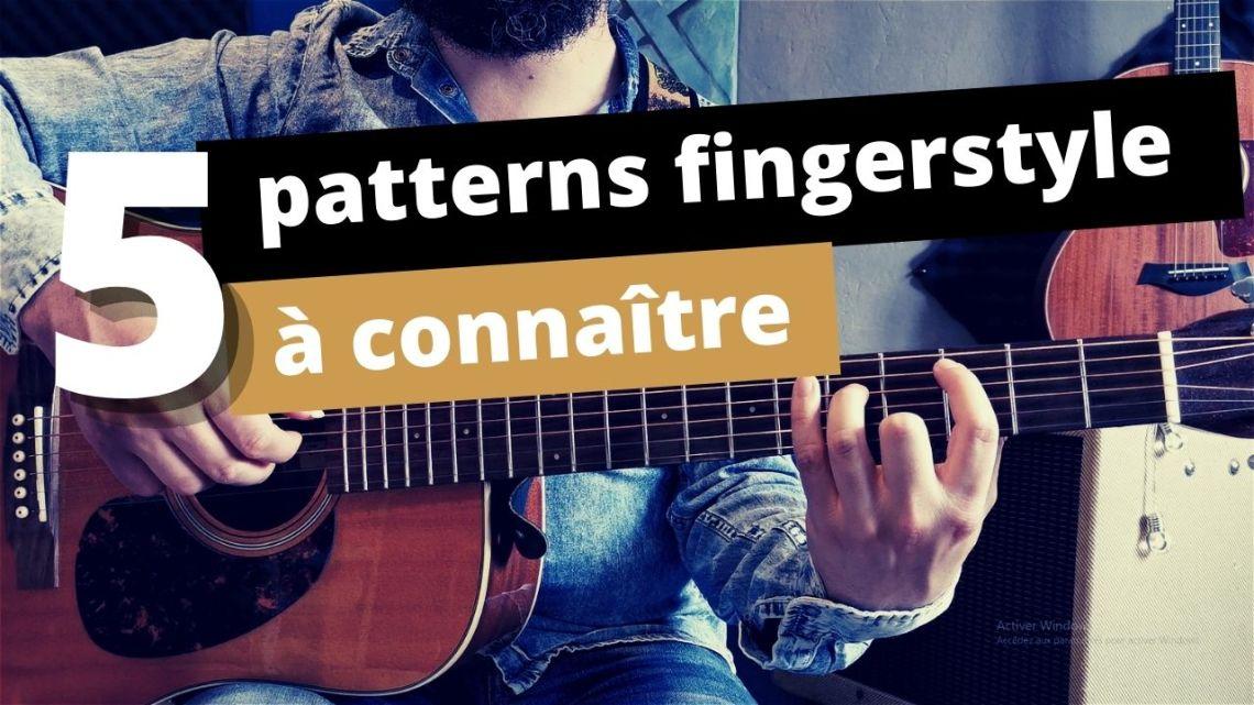 5 patterns fingerstyle
