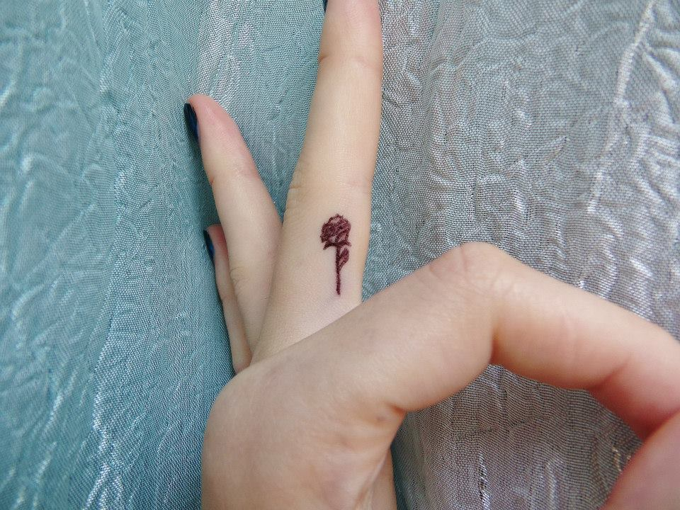 Cute Small Rose Tattoos