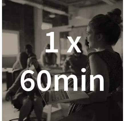 1 x 60min