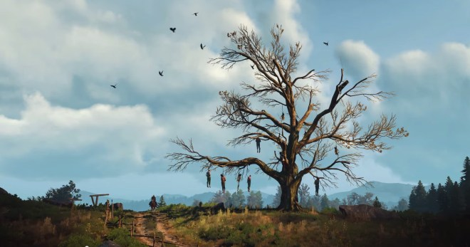 hanged man tree