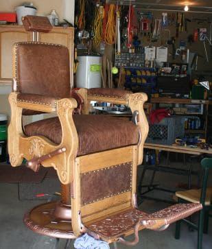 Barber Chair Restoration QAs and Successes