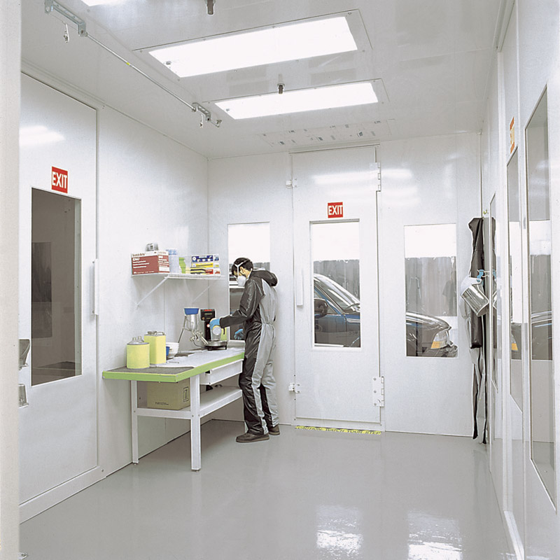 PAINT MIX ROOM2  Finishing Systems