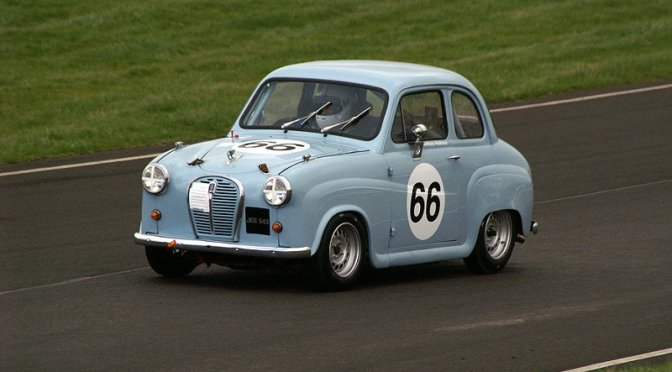 Celebrities line up for Silverstone Classic race