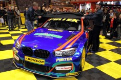 The new Pirtek Racing BMW