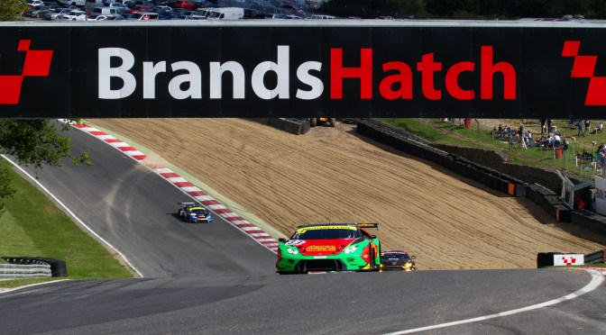 British GT Brands Hatch: Flick Haigh & Jonny Adam take win in penultimate round.