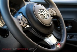 Modified Steering wheel from the GT86 Coupe