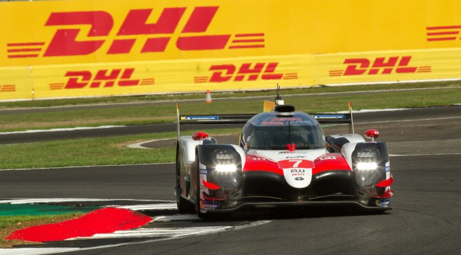 WEC Qualifying Silverstone; Toyota #7 on pole