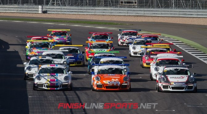 Porsche Carrera Cup GB set as support for Silverstone WEC Weekend