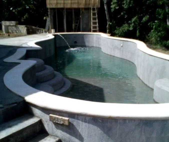 Custom Home Design Pool designing