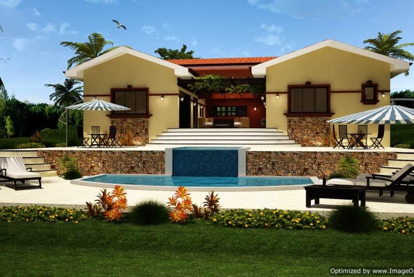 Casa Ranchero 200 sq m rear
