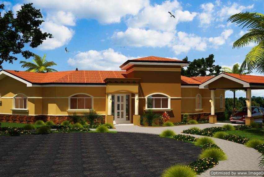 Solid Concrete Homes Casa Rosa