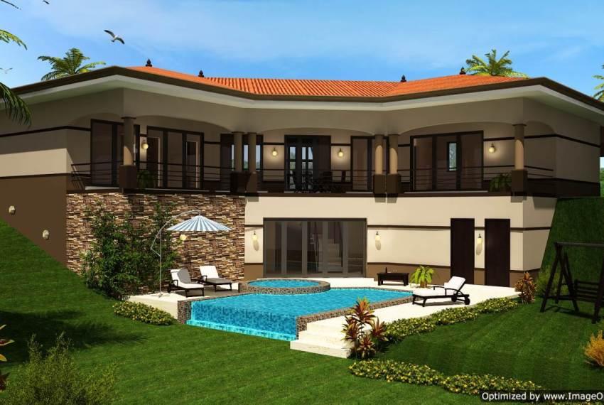Casas Sol Sloped House Design