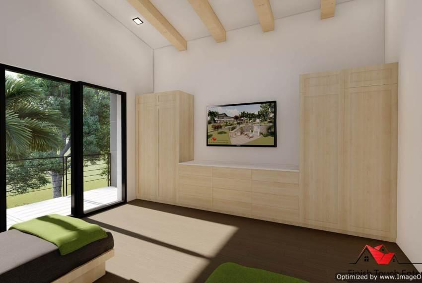 Upper master bedroom energy efficeint
