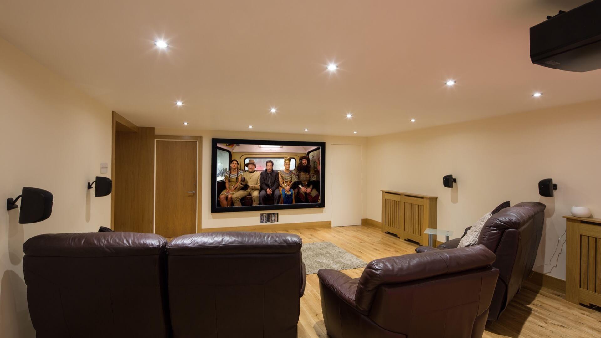 Home Cinema Room Garage Conversion  Finite Solutions