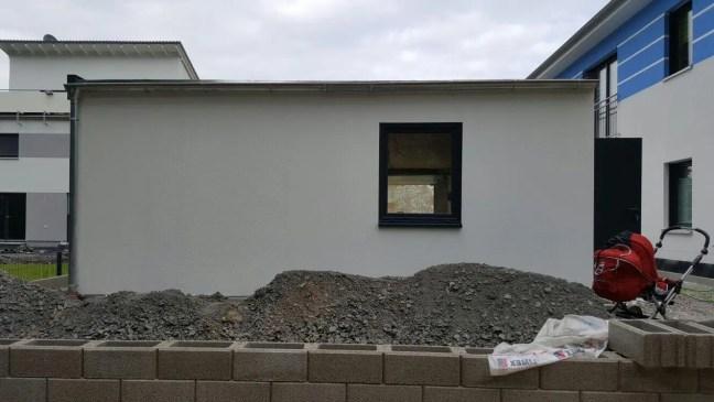 Fink Garage in Gera Rückansicht