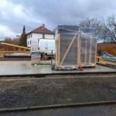 Fink Garage Oberbeisheim Holzständerbauweise Baustart