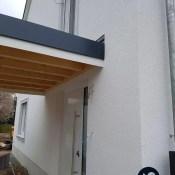 Fink Garage Ladenburg Überdachung Hausanschluss