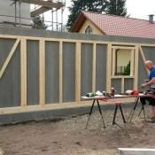 Wände aufstellen - Fink Garage Berlin