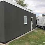 Fink Garage - Birken-Honigessen - Seitenansicht mit Tür