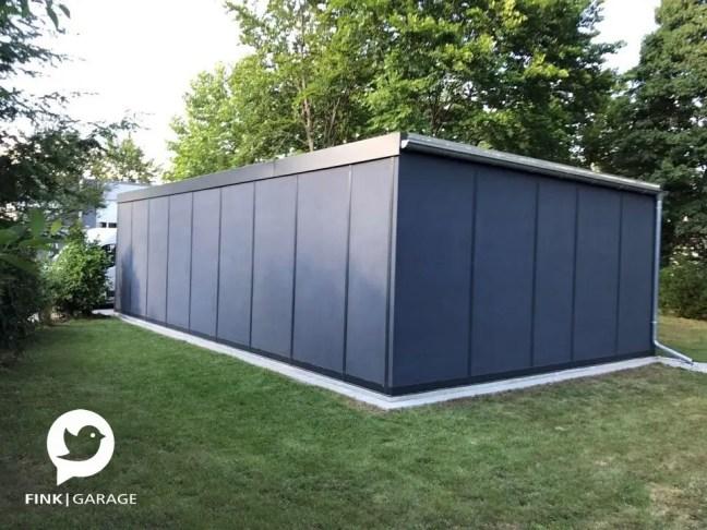 Fink Garage Gersthofen / Bayern - Rückansicht