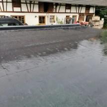 Fink Garage Dach mit Epdm-Folie