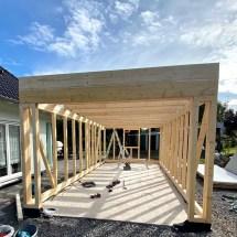 Fink Garage Holzständerbauweise Bausatz Korpus