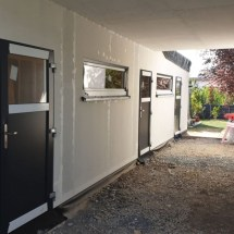 Fink Garage - Einzelgarage - Überdachung zum Haus