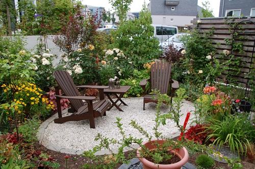 kleiner garten aber kurz und breit seite gartengestaltung mein, Garten und Bauten