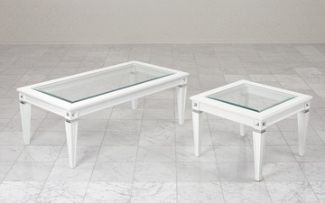 coffee tables with swarovski crystals
