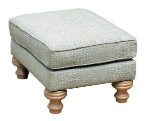 Newbury Footstool Belair [Silver Collection]